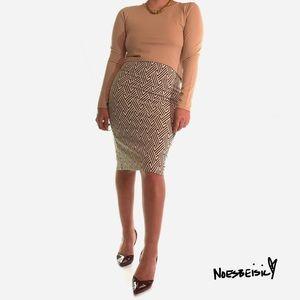 ¡¡💕2/$20!! Zara Geometric Midi Skirt NWT